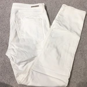 Citizens of Humanity white skinny jeans size 30